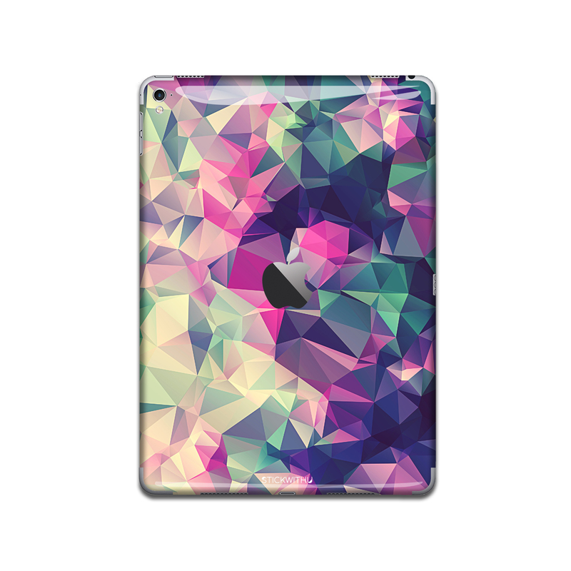 IPA009  Back  Geometry Pattern   Ipad Skin Stick