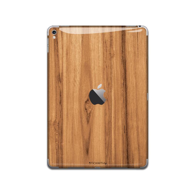IPA023  Back Wood Iphone Skin Sticker Phone
