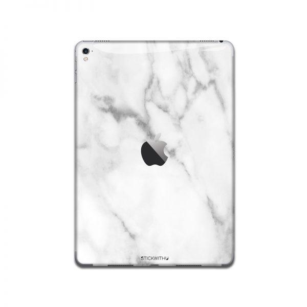 IPA038   Back   White Marble Iphone Skin Sticker