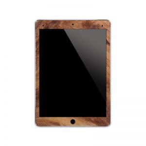 IPA040   Front Wood Iphone Skin Sticker Phone