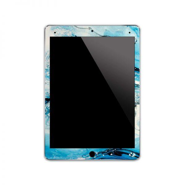 IPA054   Front   Marble Paint Ipad Skin Sticker