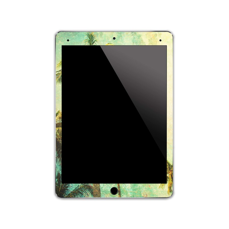IPA067   Front   Tropical Ipad Skin Sticker