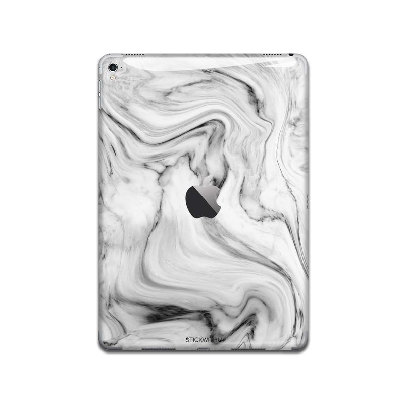 IPA084   Back   Marble Texture Ipad Skin Sticker
