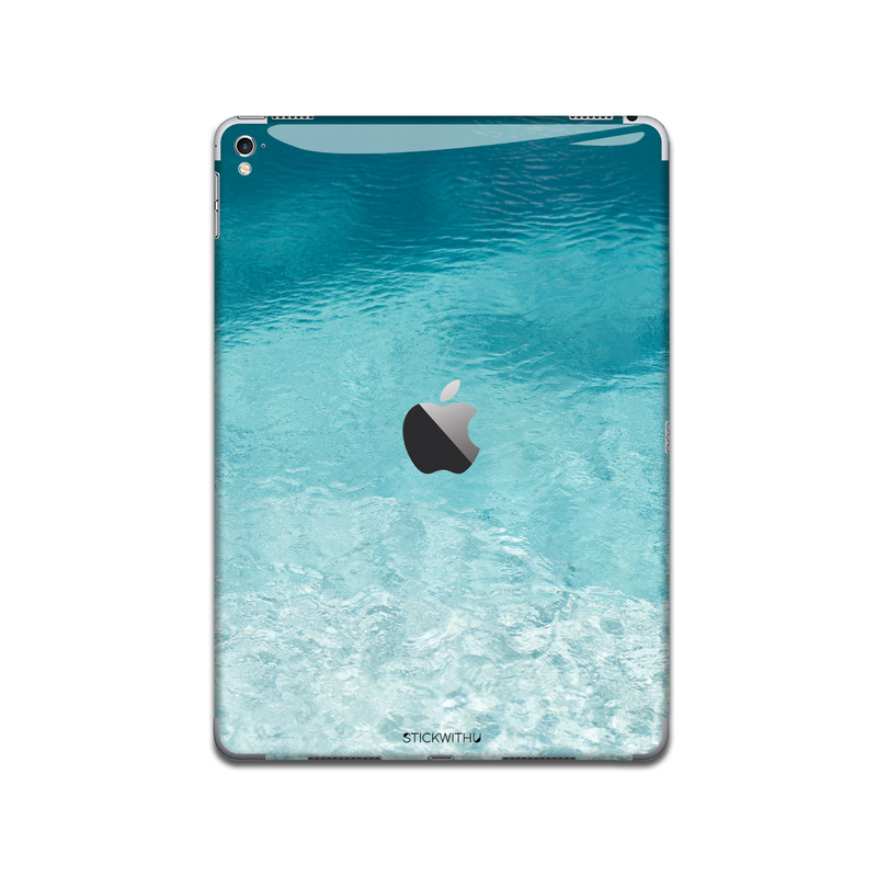 IPA110   Back   Water Texture Iphone Skin Sticke